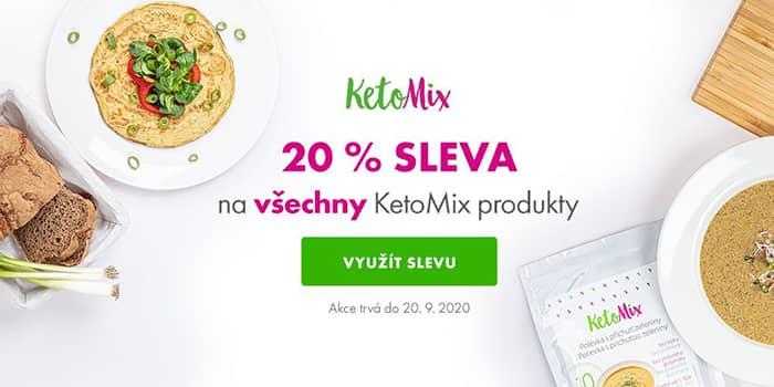 Ketomix - 20% slevy na vše