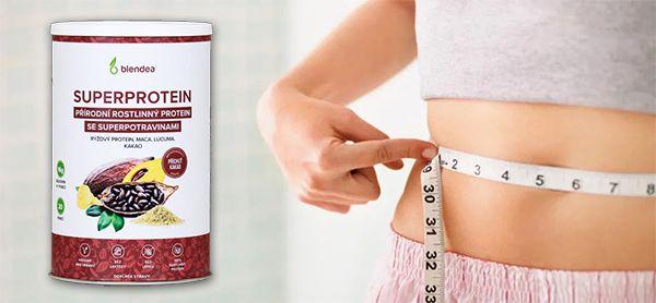 Blendea SUPERPROTEIN - Směs rýžového proteinu a 3 superpotravin