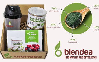 Blendea Supergreens: detoxikace a očista organismu nebyla nikdy tak chutná a s takovými výsledky, navíc v BIO kvalitě