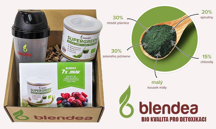 Blendea Supergreens: detoxikace a očista organismu v BIO kvalitě