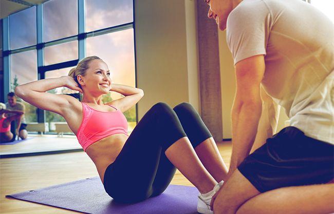 Jak cvičit břicho a zhubnout