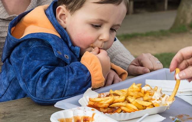 Dětská obezita a její příčiny aneb, kdo za to může + JÍDELNÍČEK