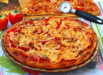 Pizza z kefíru