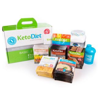 KetoDiet - Balíček pro muže na 1 krok