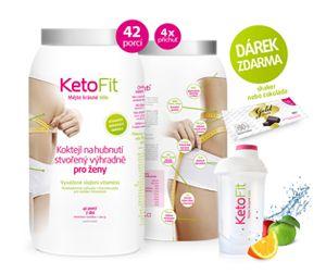 KetoFit - Účinné proteinové hubnutí