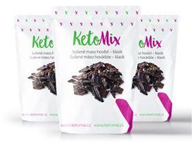 Ketomix - Sušené hovězí maso