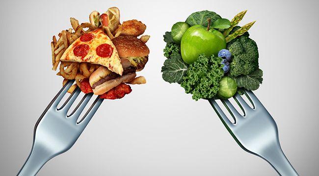 Kyselé a zásadité látky ve stravě