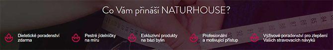 Naturhouse: Hlavní výhody v bodech