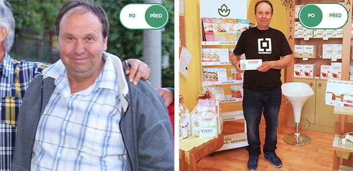Naturhouse zkušenost: Pan Jan zhubl 54 kg