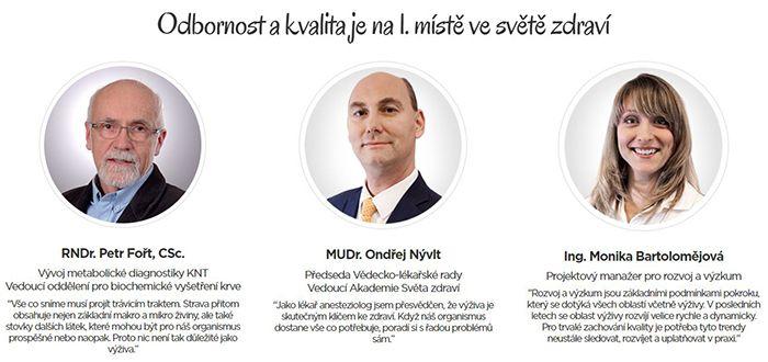 Svět-Zdraví.cz a odborníci, kteří stojí za projektem
