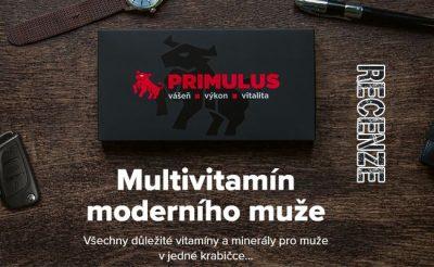 Otestovali jsme multivitamin pro muže Primulus