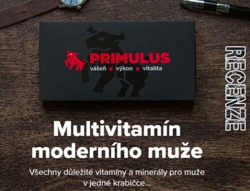 Multivitamin pro muže Primulus: zlepší vitalitu a budete si připadat mladší