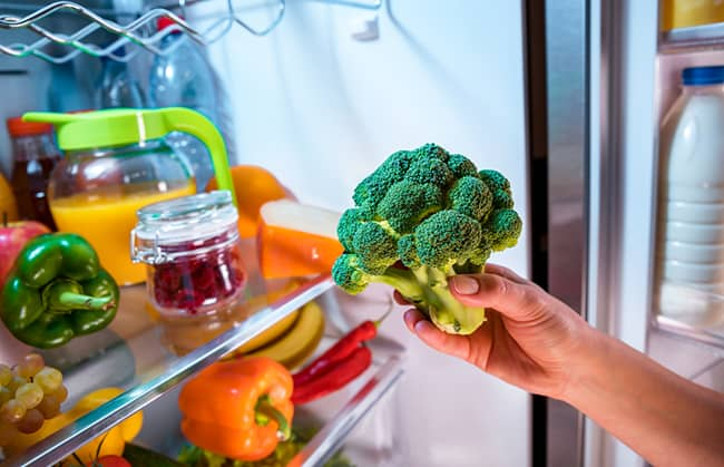 Jak na správné skladování potravin