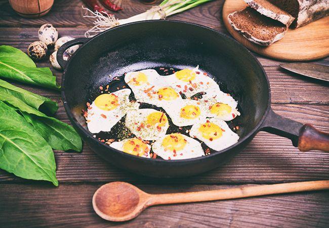 Vajíčka při dietě nemusí být jediná potravina